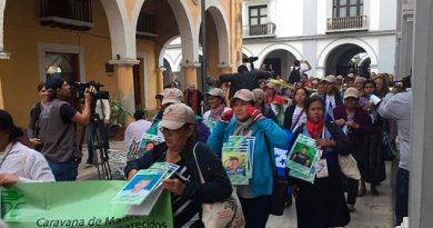 Madres Desaparecidos Llegan Veracruz Prueba ADN