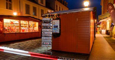 Paquete Sospechoso Desata Alerta Mercado Navideño Alemania