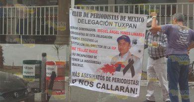 Piden Justicia Tuxpan Periodísta Asesinado