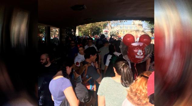 Reportan Apagón Disneyland