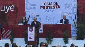 Toma Protesta Alcalde Electo