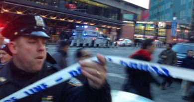 Varios Heridos Explosión Intento Atentado Centro Nueva York