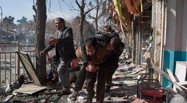 Ambulancia Explosivos Estalla Kabul