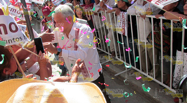Andrés Manuel Mensaje Amor Paz Gobernador Veracruz