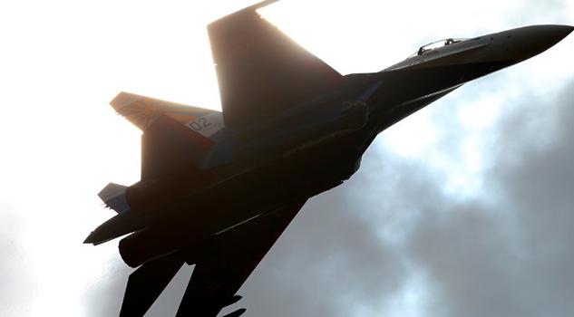 Avión Ruso Vuela Metros Avión Armada E.U.