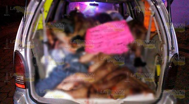 Cuerpos Desmembrados Camioneta Xalapa