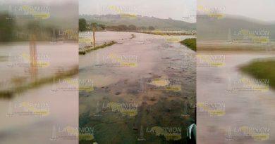 Desborda Río Solteros Porvenir