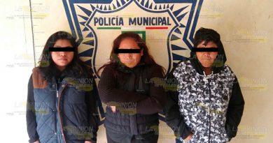 Detenidas Golpear Parroquiano