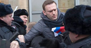 Detenido Líder Opositor Ruso Navalni