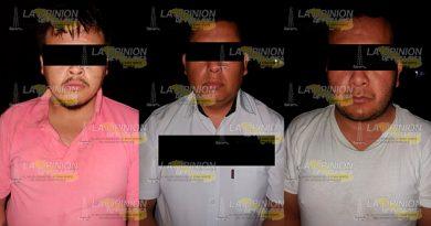 Detiene SSP Tres Presuntos Secuestradores