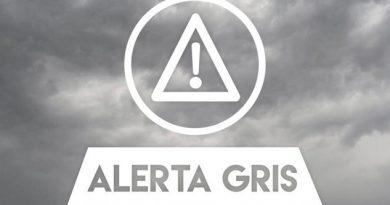 Emite PC Alerta Gris Frente Frío