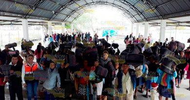 Entrega Apoyos Invernales Municipios Sierra