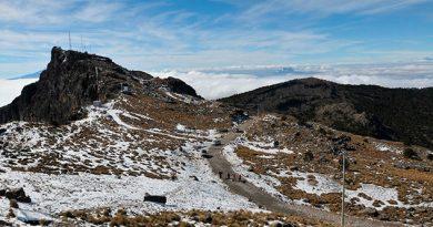 Fin Semana Nieve Partes altas Veracruz