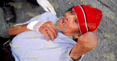 Hombre Sufre Aparatosa Caída