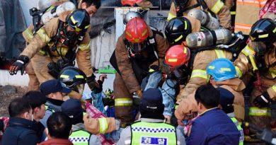 Incendio Mortífero Víctimas Fatales Corea Sur