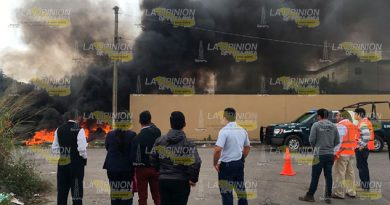 Incendio Terrenos Central Abastos