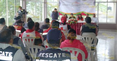 Instalan Consejo Municipal Protección Civil Chinampa