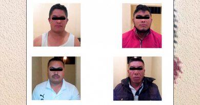 Liberan a 2 secuestrados y capturan a 4 plagiarios en Hidalgo