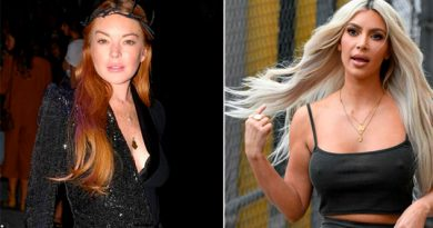 Lindsay Lohan Kim Kardashian Enfrentan Instagram