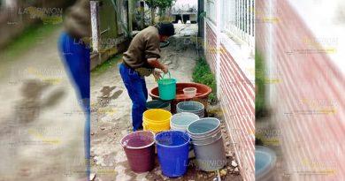 Llevan Días Sin Agua