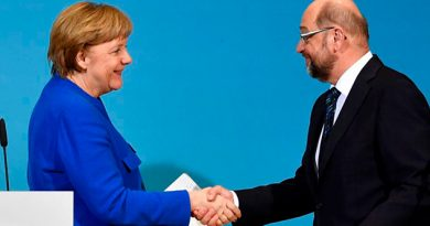 Merkel Schulz Encarrilan Coalición Alemania