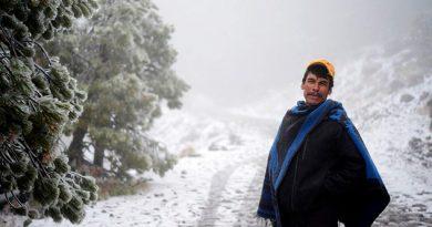 Nieve Cofre Perote Vivir Bajo Cero