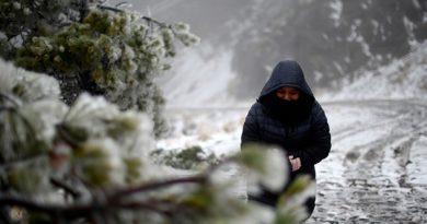 Pronostican Nevadas Cobre Perote Pico Orizaba