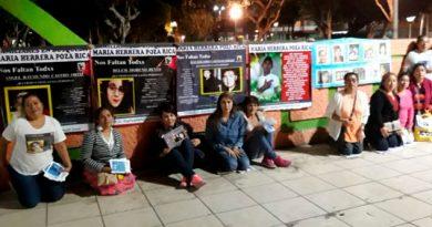 Propaganda Colectivo María Herrera Búsqueda Hijos