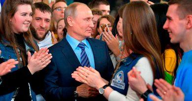 Recolecta Putin Millón Firmas Dos Semanas