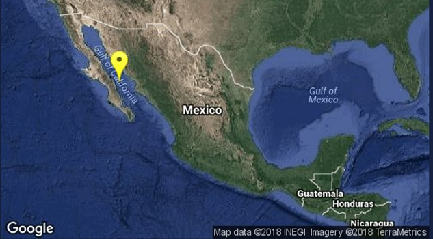 Sismo Loreto Baja California Sur