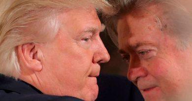 Trump Rompe Bannon Perdido Cabeza Criticar Hijo