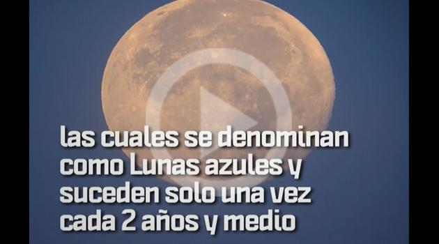El próximo 31 de enero la Luna formará parte de un fenómeno que no ha ocurrido desde hace 150 años.