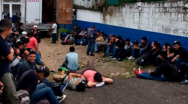 Aseguran Centroamericanos Agua Dulce Sur Veracruz