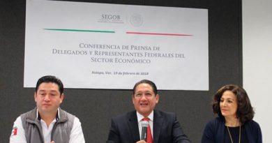 Cambios Delegaciones Federales Veracruz