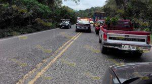 Caos vial Carretera Federal