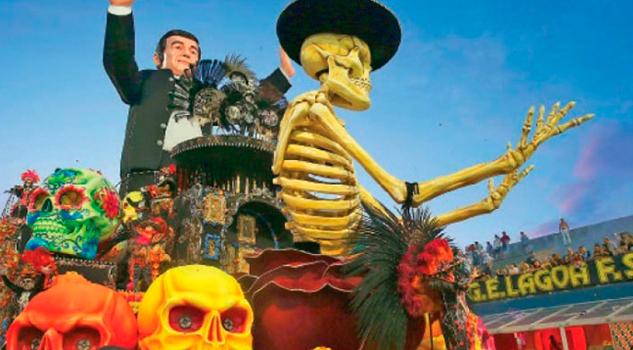 Carnaval Sao Paulo Honra Mexicanos