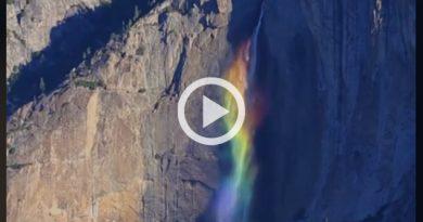 Cascada Arcoíris