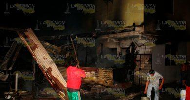 Incendio Arrasó Rosticería Monte Chiquito