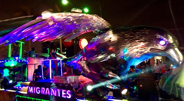 Lleno Total Desfiles Carnaval Comité Organizador