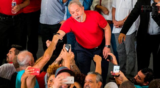 Lula da Silva Jamás Huirá Brasil