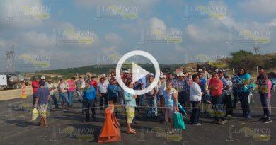 Mantienen Bloqueo Construcción Autopista Tuxpan Tampico