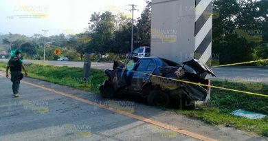 Muere Fatal Accidente Tuxpan Poza Rica