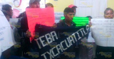 Padres Familia Manifiestan Zona Supervisión TEBAEV