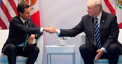 Peña Nieto Trump Discutir Muro