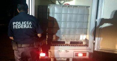 Policía Federal Vehículos Litros Hidrocarburo