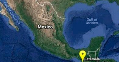 Registró Sismo Chiapas