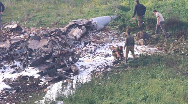 Siria Derriba Caza Israelí