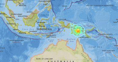 Sismo Sacude Papúa Nueva Guinea