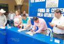 Firman convenio IVEA y Ayuntamientos