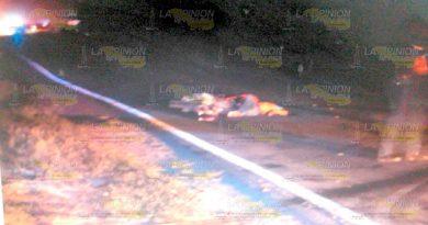 Horrible muerte de dos motociclistas